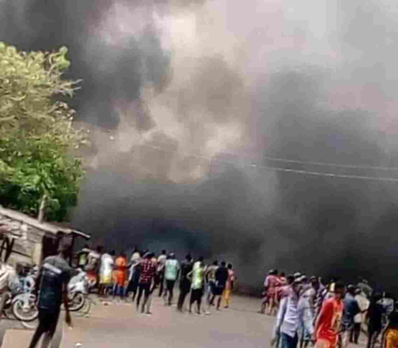 13 confirmed dead in Benue tanker Explosion