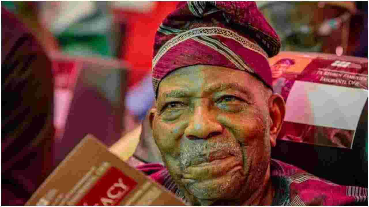 2023: Tinubu has my total support - Afenifere leader, Fasoranti