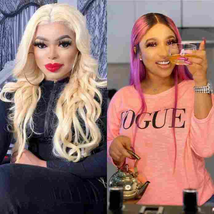 Bobrisky And Tonto Dikeh Unfollow Each Other On Social Media