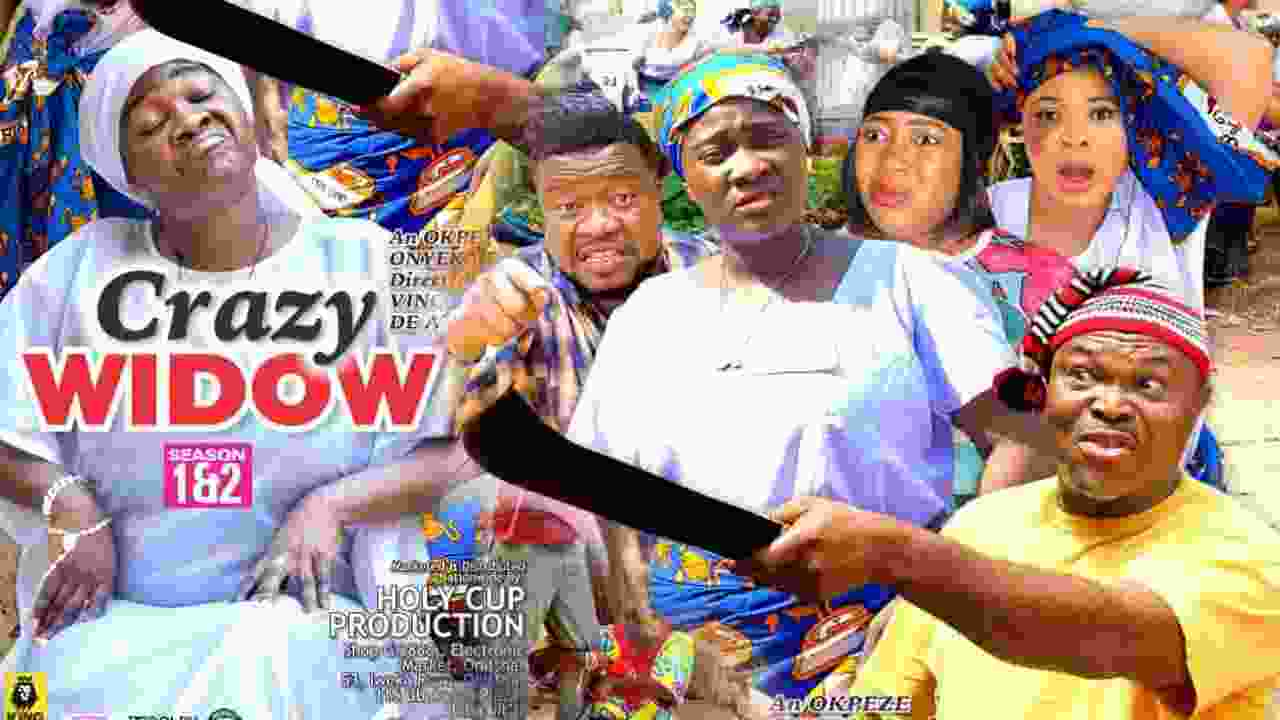 Crazy Widow Season 1 Latest Nigerian 2021 Nollywood Movie