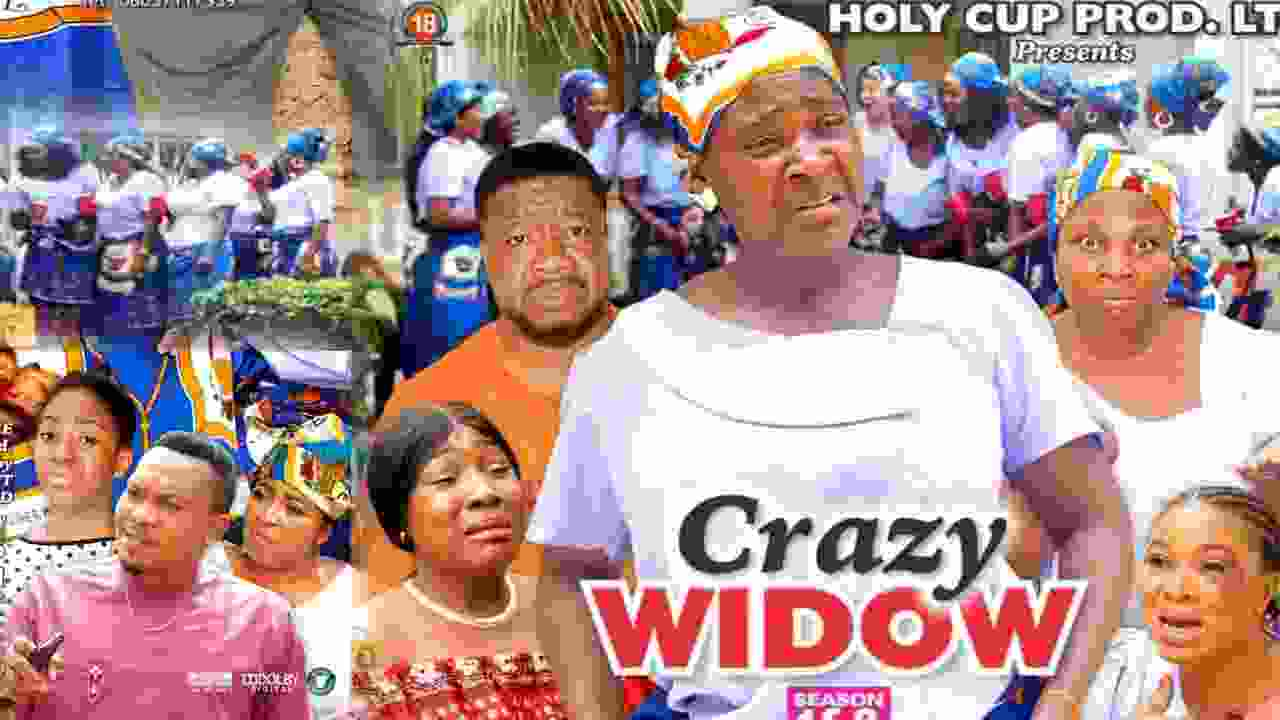 Crazy Widow Season 7 Latest Nigerian 2021 Nollywood Movie