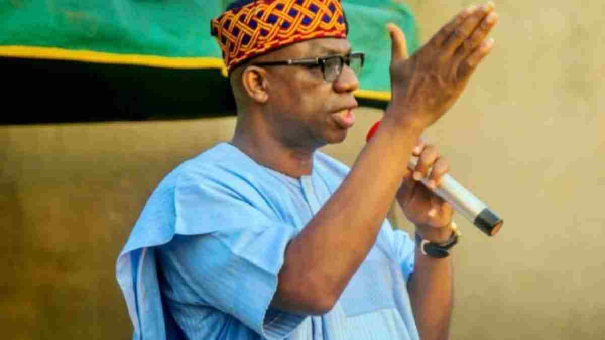 Governor Dapo Abiodun receives PDP members into APC in Ogun State