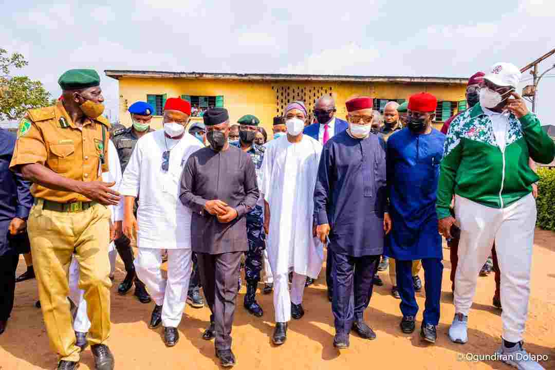 Imo Prison break: Osinbajo hints on Federal Government Plan to rejig Security Architecture