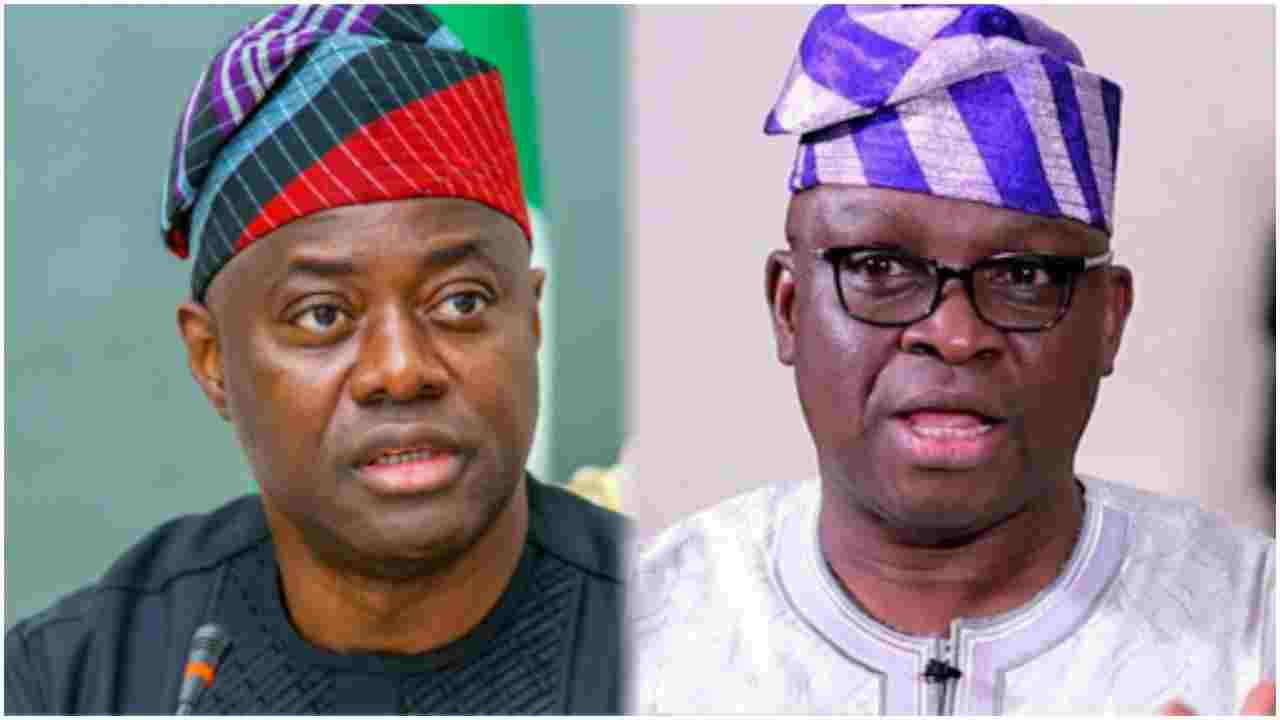 Makinde is PDP Leader - Fayose Concedes