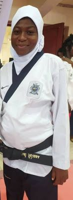 NSF: Pregnant Lagos athlete wins gold in taekwondo