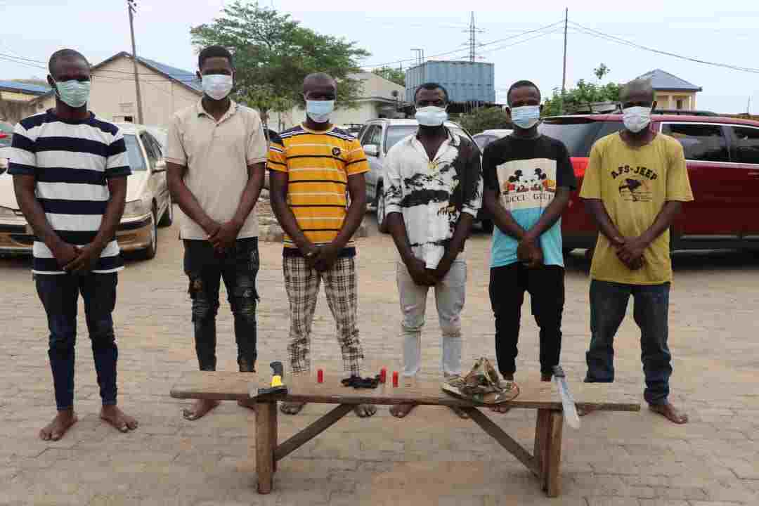 Police arrests 17 cultists in Abuja