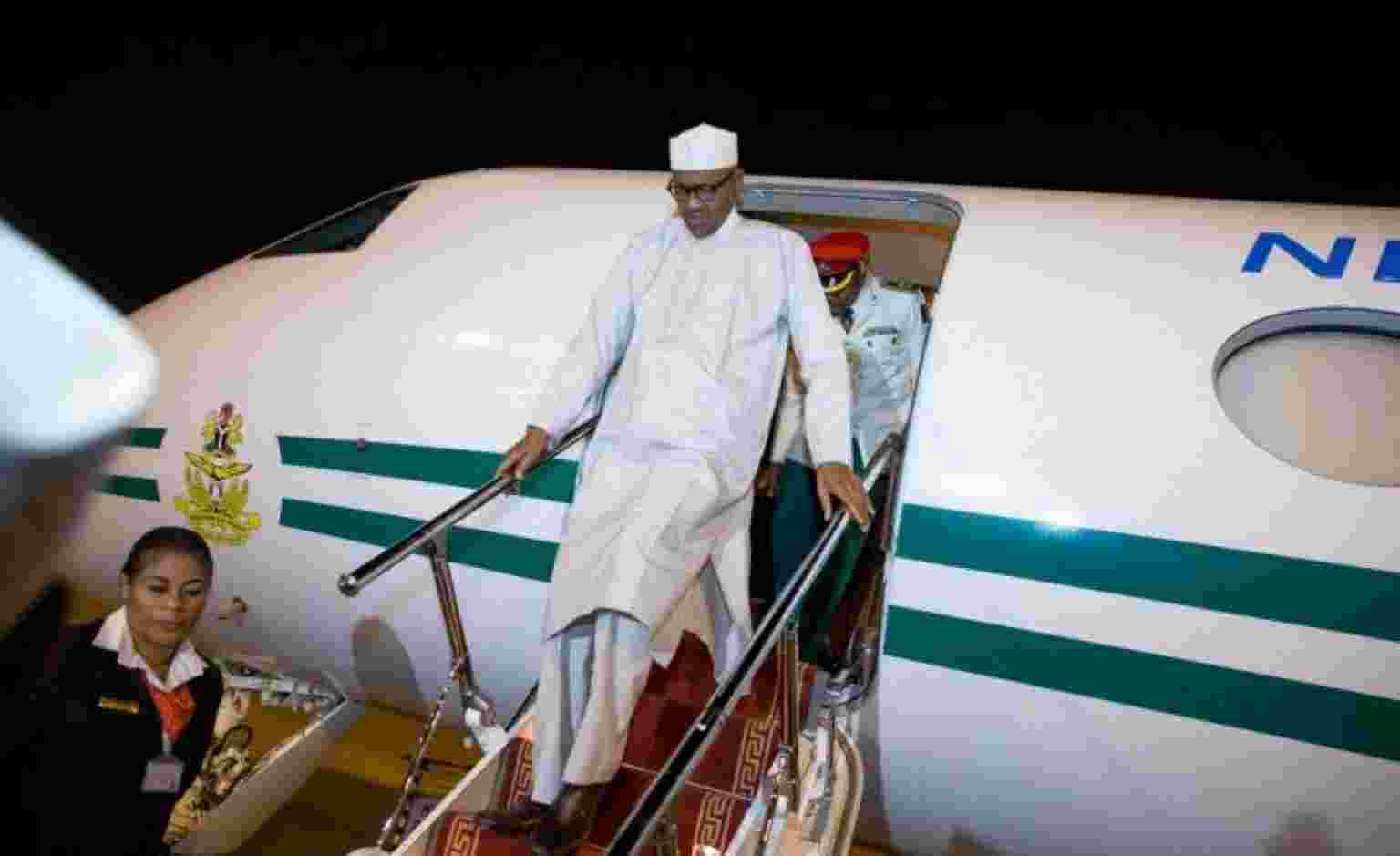 President Buhari returns from Medical trip to UK