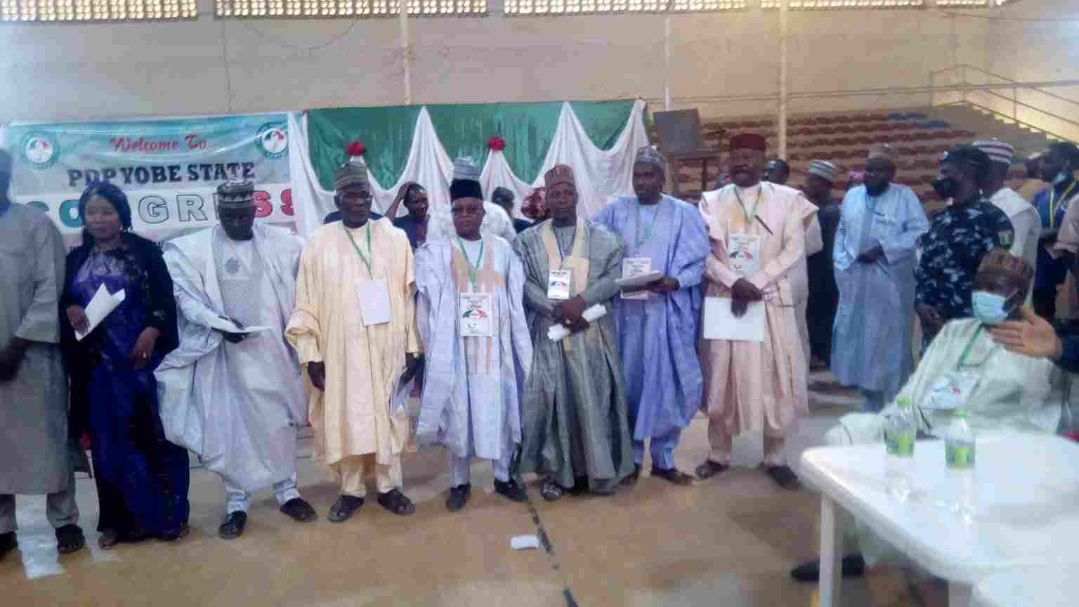 Yobe PDP holds congress, elects executives, after one year without Officials