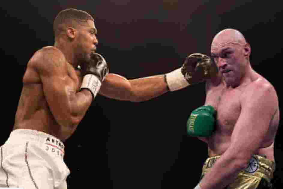 Anthony Joshua And Tyson Fury To Fight In 'Specially-built Stadium In Saudi Arabia'