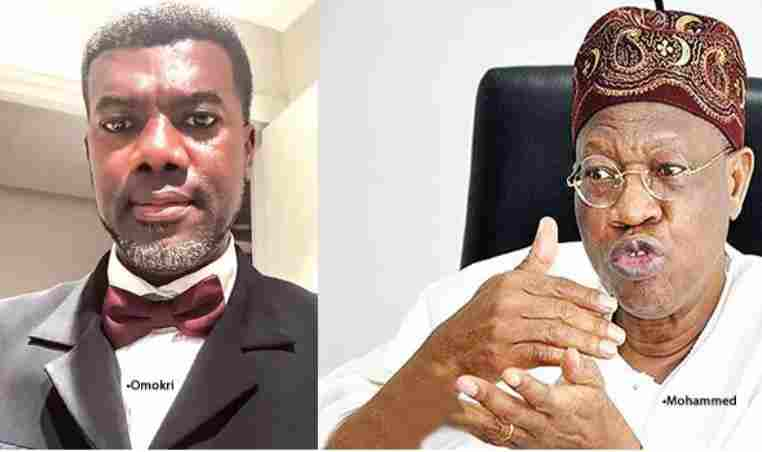 FG Is Careful With Kidnappers But Not With #EndSARS Protesters - Reno Omokri Slams Lai Mohammed