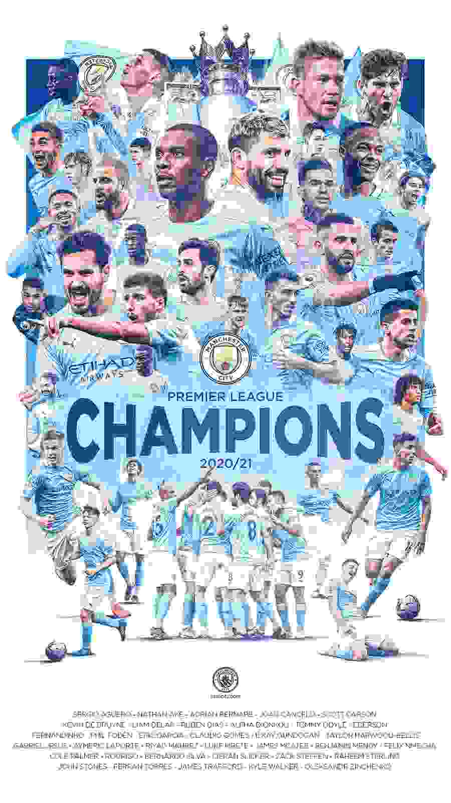Manchester City Win EPL Title After Leicester Beat Manchester United
