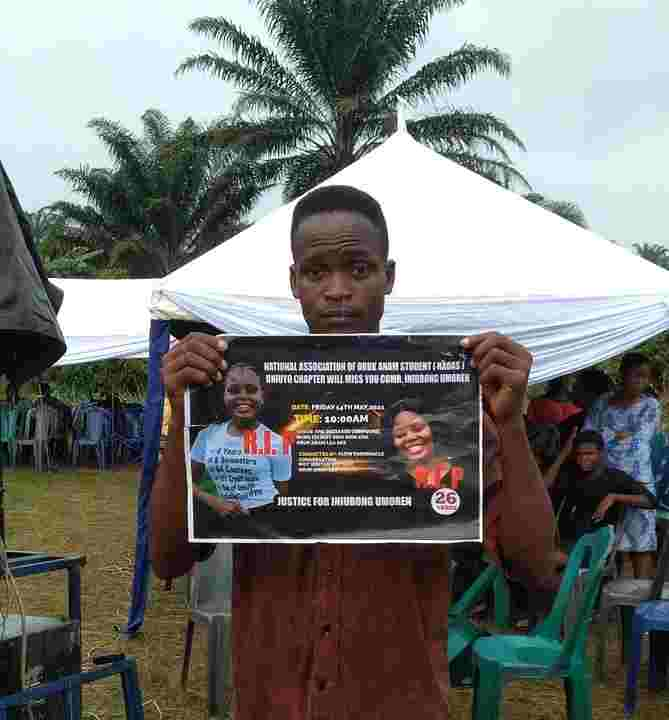 Tears As Murdered Job Seeker, Iniubong Umoren Is Buried In Akwa Ibom (Photos)
