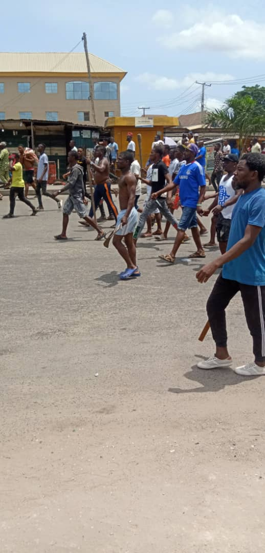1 Million Boys are also Trying to Attack Oworonshoki, But they are Ready (Watch Video)
