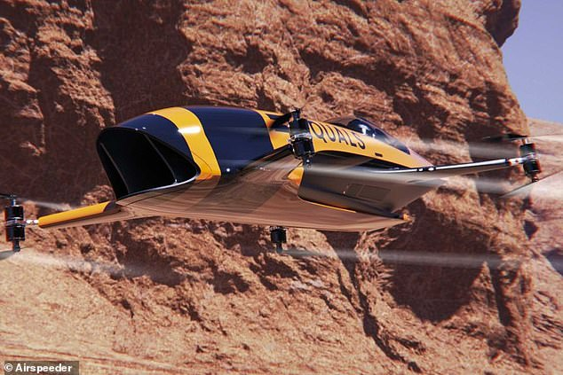Airspeeder: World's First Flying Race Car Unveiled