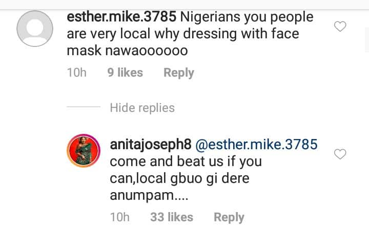 Anita Joseph and her Followers Fight Dirty over Face Mask Usage