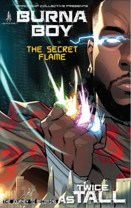 Burna Boy's Album, Twice As Tall, Will Come With A Comic Book