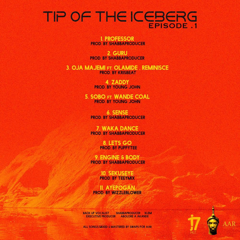 Checkout 9ice Album Cover + Track List