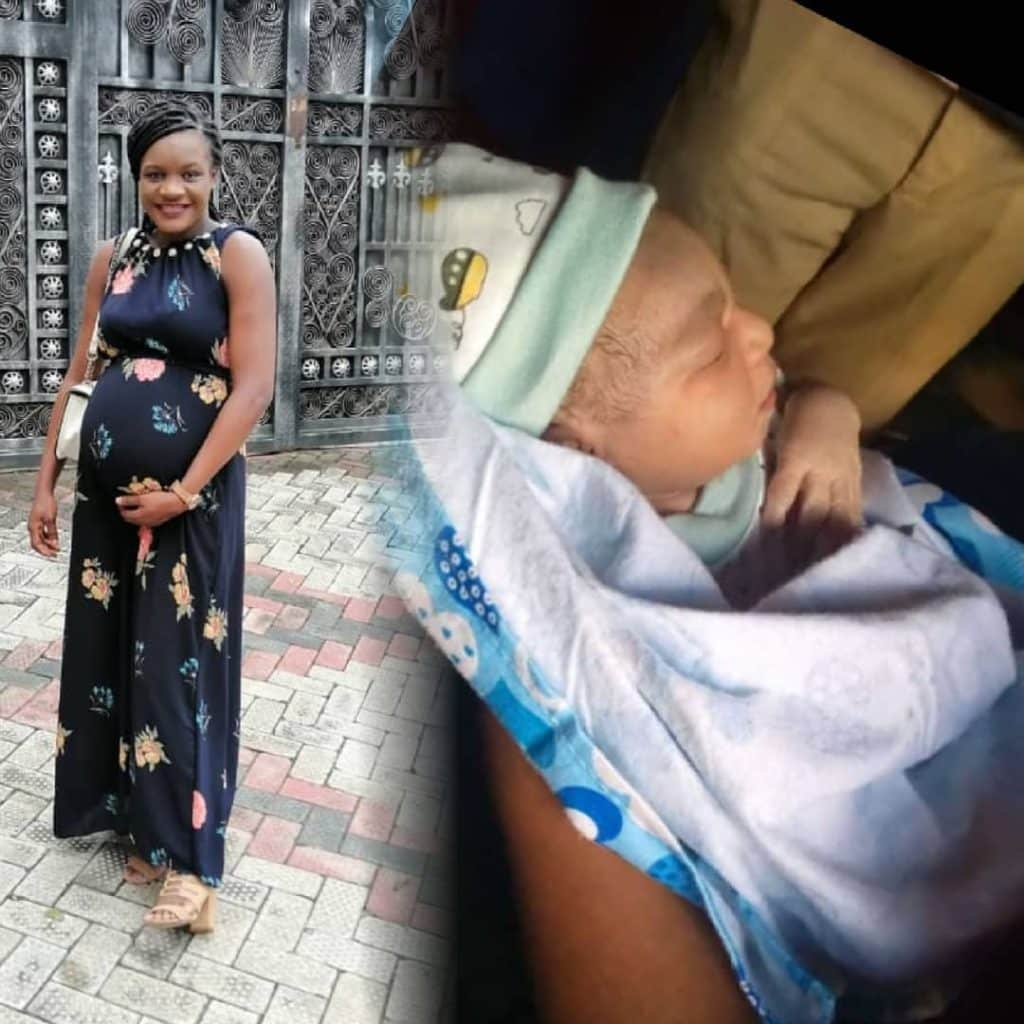 Favour Iwueze of 'Destined Kids' welcomes first child with Husband (See Photos)