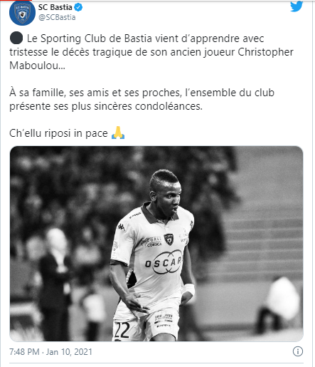 French Footballer, Christopher Maboulou Dies After Suffering Heart Attack During Kick-About With Friends