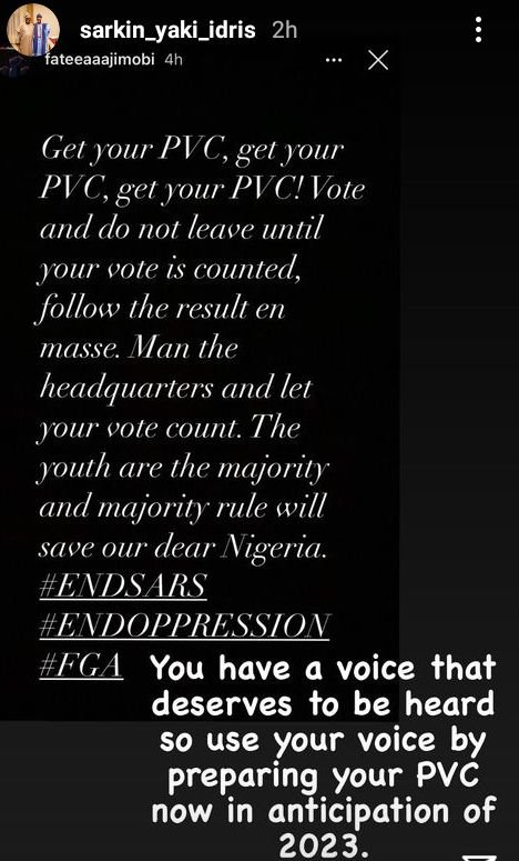 """Get Your PVC And Let Your Vote Count"" – Ganduje Speaks On #ENDSARS Protest"