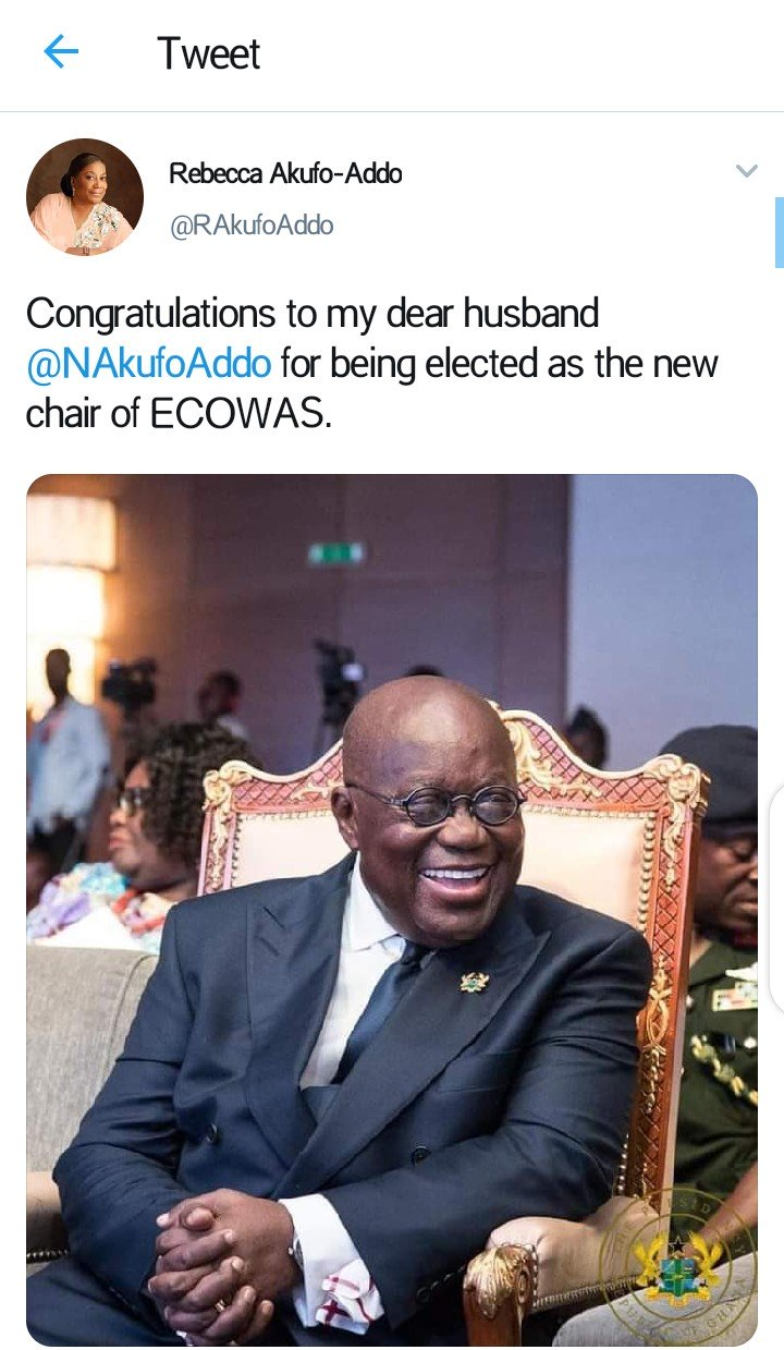 Ghanaian President Akufo-Addo Elected As New ECOWAS Chairman