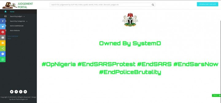 Hackers Take Over Industrial Court's Website, Leak Edo State Contracts Details