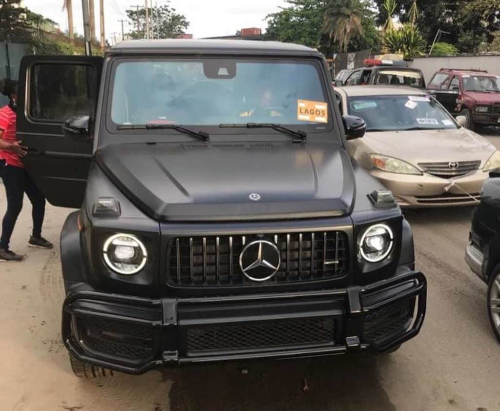 Hair Entrepreneur, Mizwanneka Buys 2020 Mercedes-Benz G63 AMG, Worth N120m (Photo & Video)