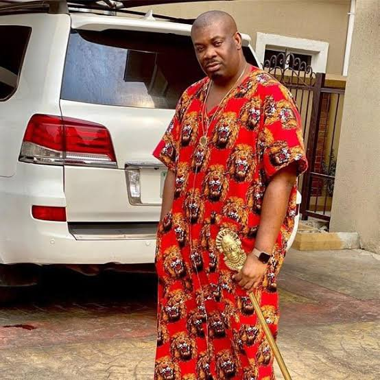 """I prefer clothes that don't show my boobs"" – Don Jazzy reveals why he likes wearing big robes"
