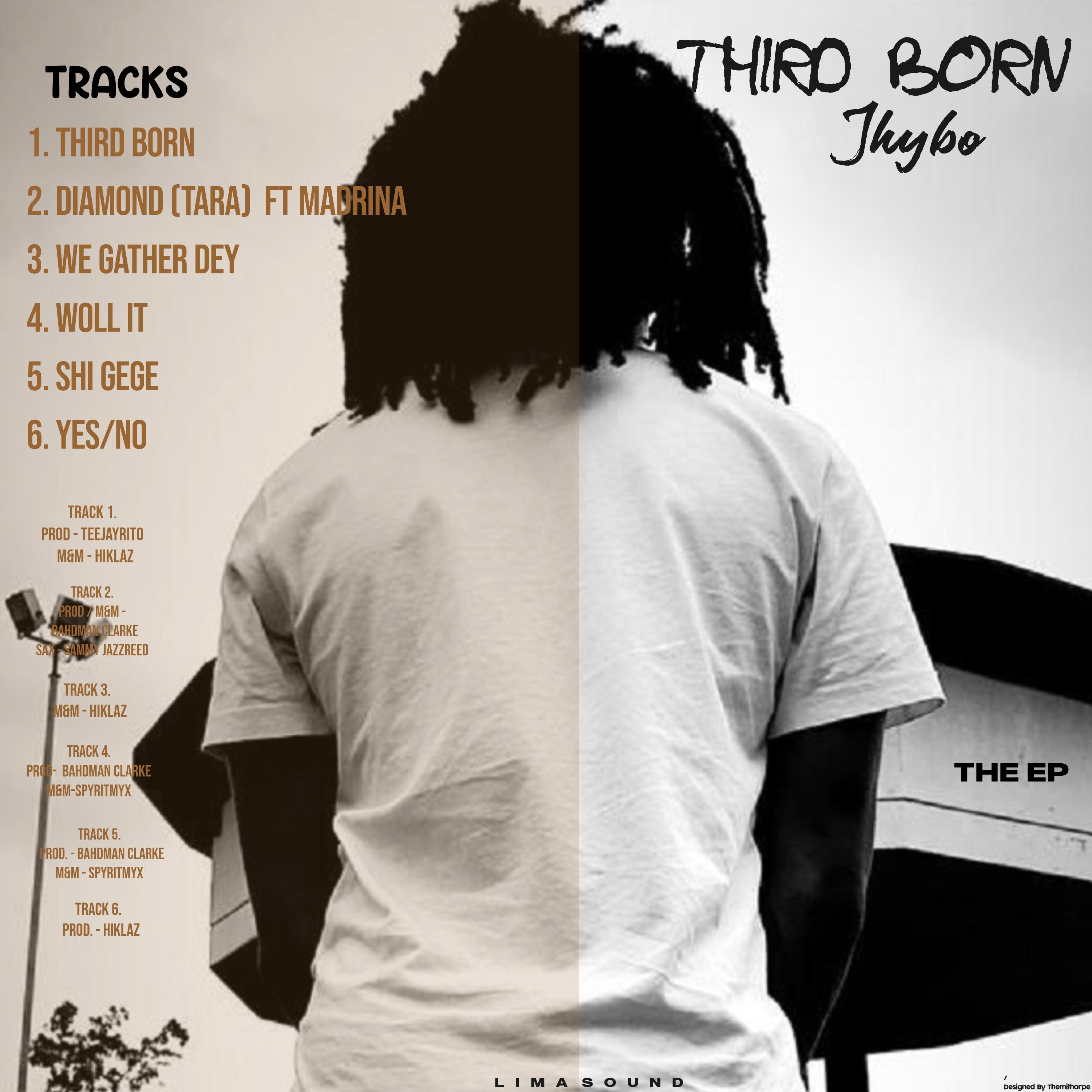 Jhybo - Third Born (EP)