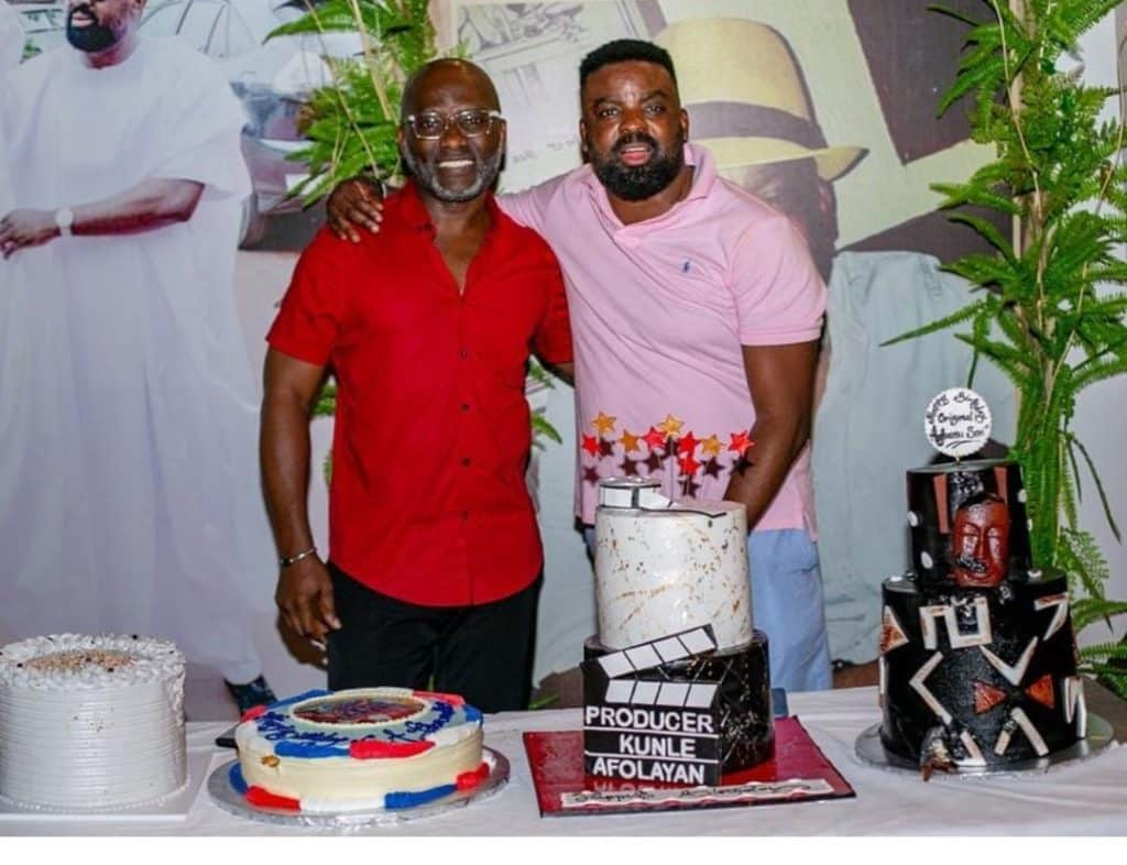 Kunle Afolayan marks his 45th birthday without his wife