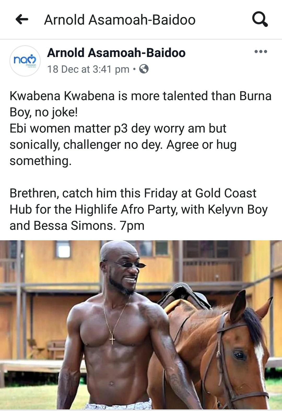 'Kwabena Kwabena is more Talented than Burna Boy' - Ghanaian Journalist says