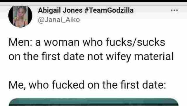 Lady who finally gets married to a man she slept with on her first date dishes advise to other women.