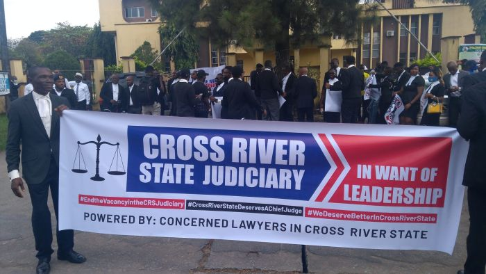 Lawyers To Boycott Swearing In Of Cross River Acting Chief Judge, Insist On Street Protest