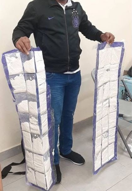 NDLEA Arrest two Men with 16.65KG of Cocaine Worth over N2Billion in Lagos (See Photos)