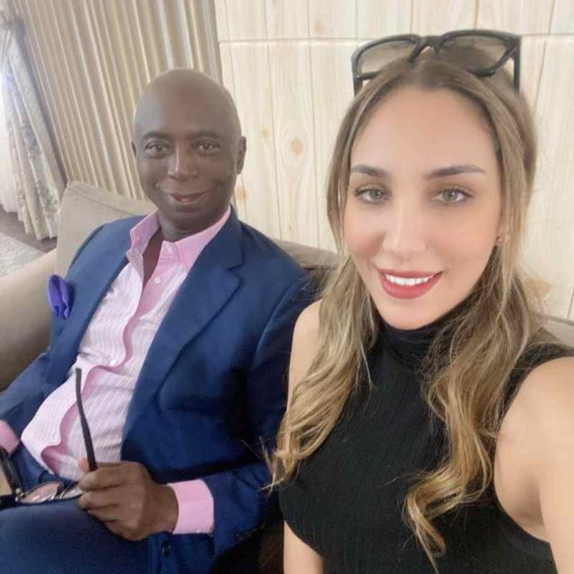 Ned Nwoko celebrates fifth wife, Laila ahead of 30th birthday