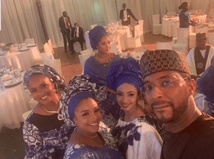 President Buhari's Daughter, Hanan's Gets Married Amidst Coronavirus Fears