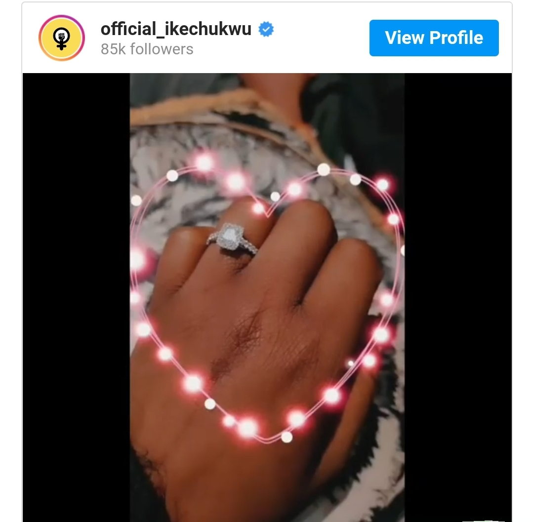 Rapper Ikechukwu announces engagement with girlfriend