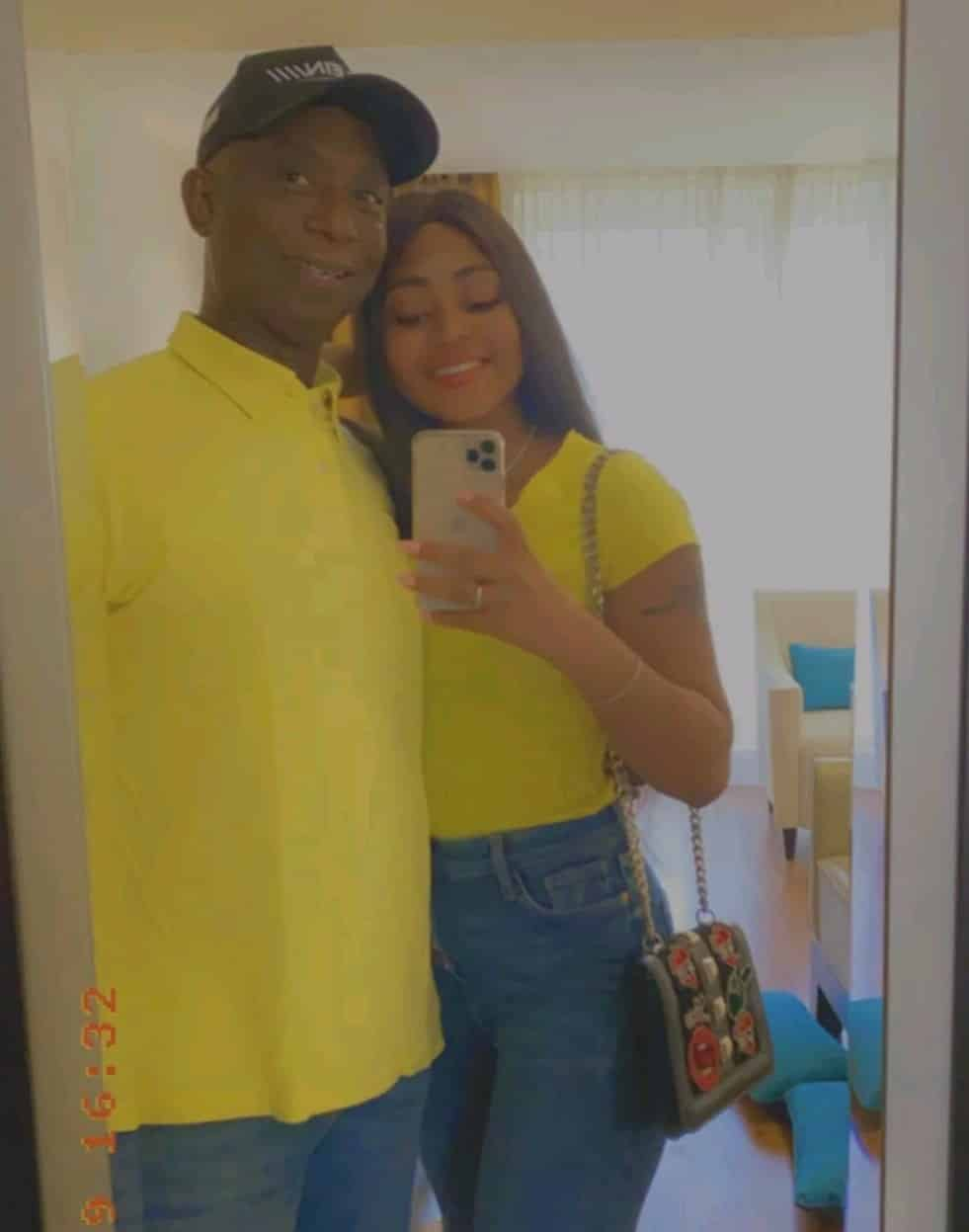 Regina Daniels and her Billionaire hubby twinning in New Photos