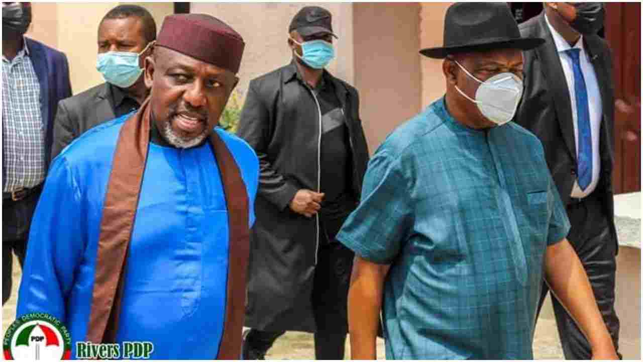 2023: Okorocha visits Wike twice in one Month