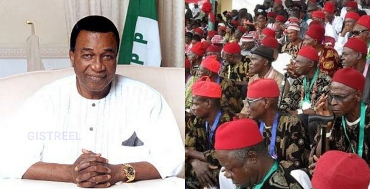 """2023 Presidency belongs to Ndigbo and no other Region"" - Jim Nwobodo blows hot"