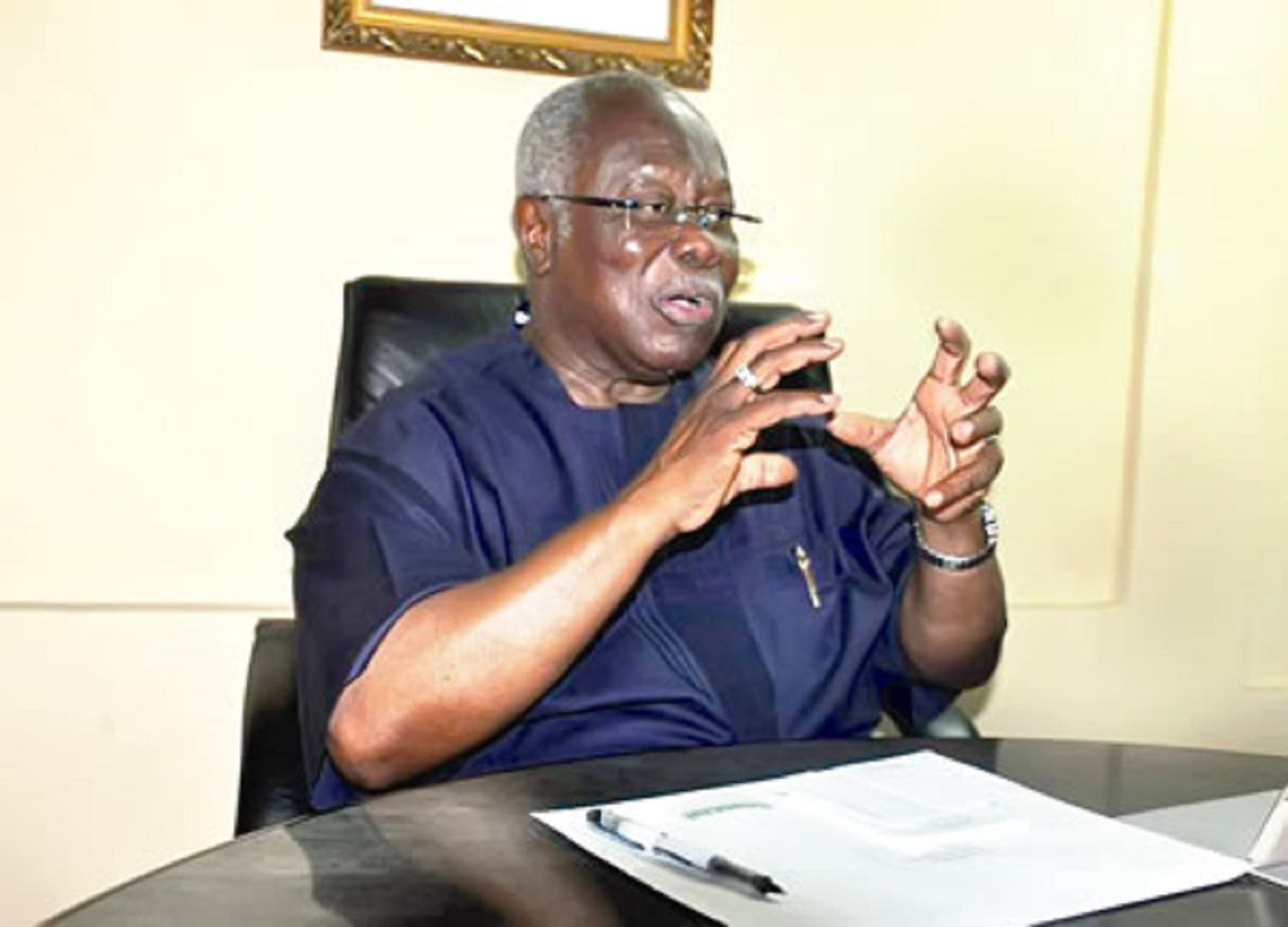 2023 Presidency: Bode George cautions Buhari about Tinubu