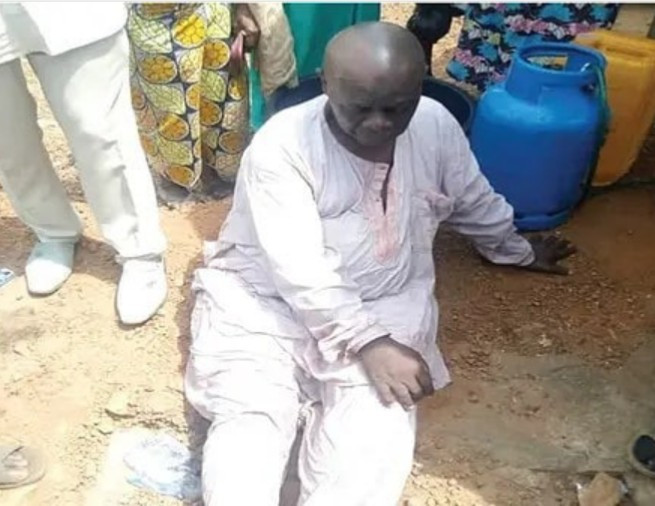67Years Old Man Rescued after he jumped into Kwara River