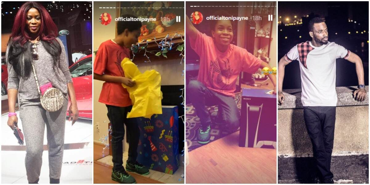9ice' ex-wife, Toni Payne, gifts their son Zion a PS5 for his 12th birthday