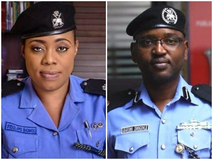 Abayomi Sogunle, Dolapo Badmus Dismissed From Nigeria Police Force