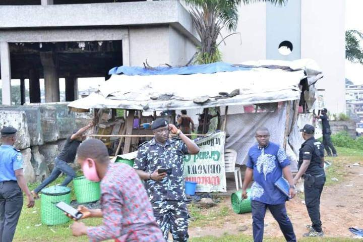 "Abia Government Demolishes ""Criminal Hideouts"" In Aba (Photos)"