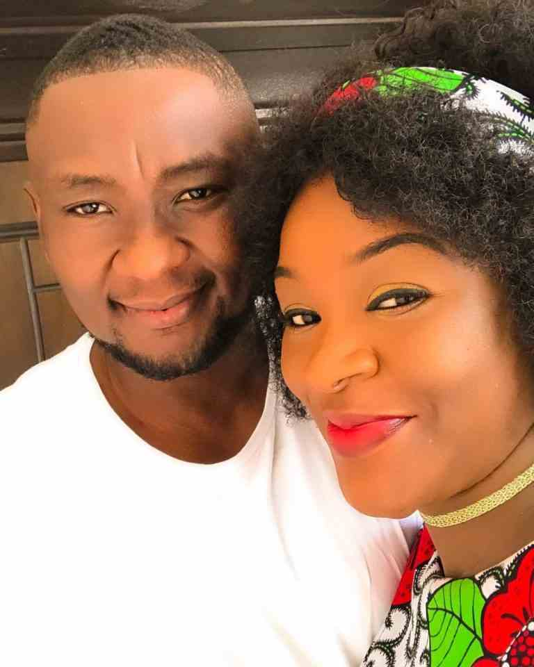 Actress, Chacha Eke celebrates husband, Austin Faani on his birthday