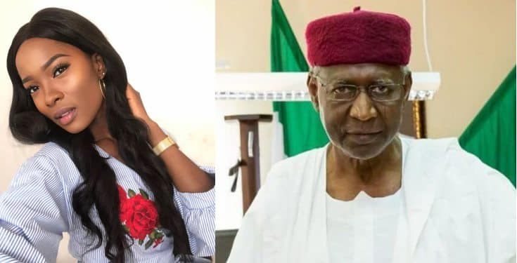 Actress Jemima Osunde called out NCDC for Releasing Abba Kyari's corpse