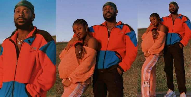Adekunle Gold Shares Beautiful Photos With Pregnant Wife, Simi