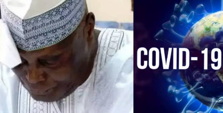 COVID-19: After Four Weeks Treatment, Atiku's Son Tested Positive Again
