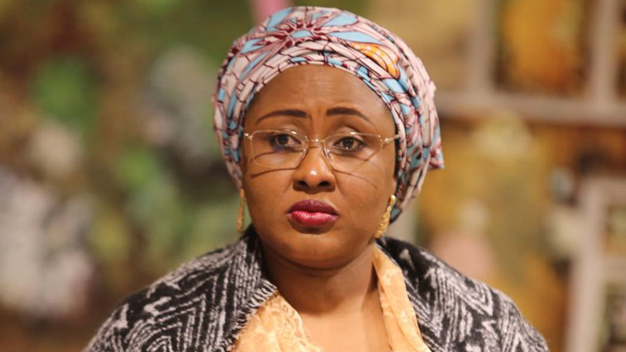 Aisha Buhari reportedly abandons Aso Rock Villa for Dubai for security reasons